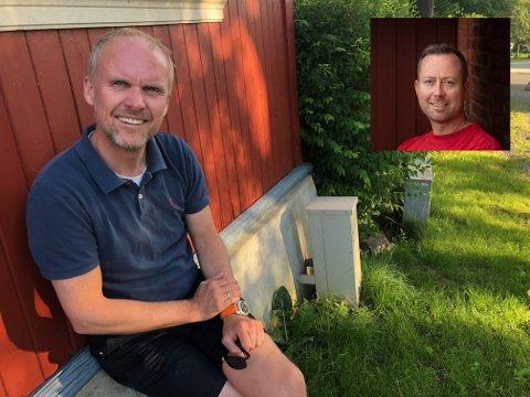 Even Haug (t.v) uttalte seg i helga til Glåmdalen om at det er alt for mange skjulte arbeidsledige i distriktet. Nå svarer fagleder i NAV Kongsvinger Thomas Monsen på hvorfor det er slik.