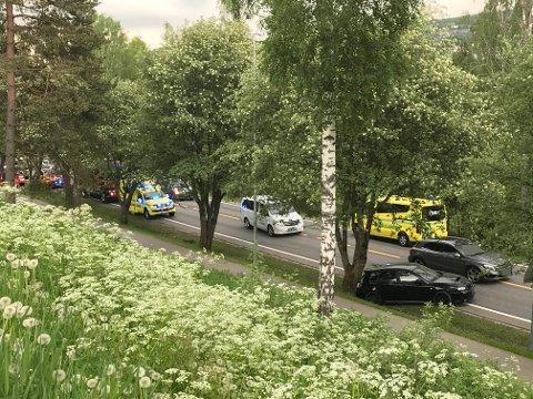 ETTERFORSKES: Politiet har satt i gang etterforskning etter trafikkulykken ved Langeland mandag ettermiddag. – Noen vitner er blitt avhørt, opplyser politioverbetjent Rune Bekkemoen ved Kongsvinger politistasjon.
