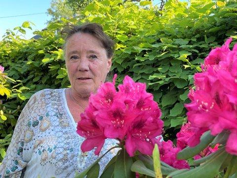 BLE SKREMT: Ragnhild Sæbø tenkte ikke at hun noen gang skulle bli glad for at hun har tatt vaksine. Om noen dager får hun sprøyte nummer to.