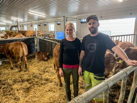MENINGSFULLT: Anja Marthinsen og Mats Albrechtsen har satset stort i Slettås. Nå får de beskjed om at det ikke er ønskelig likevel.