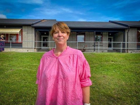 SKJEVFORDELING: I Langeland barnehage er det kun kvinnelige ansatte. Lene Nordnes er pedagogisk leder for barnehagen og ønsker at flere menn skal velge yrket.