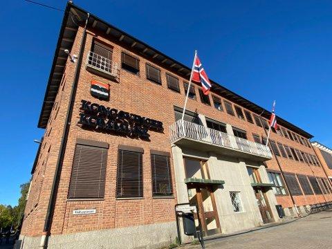 MÅ OPPGRADERES; 71 millioner kroner vil det koste å oppgradere Kongsvinger rådhus med nytt tak, ny ventilasjon og en ekstra heis.