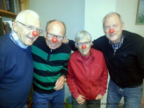 Humorkomiteen: «Humorgruppa» i Ringsaker historielag arrangerer igjen en «Ljugerkveld». Foto: Privat