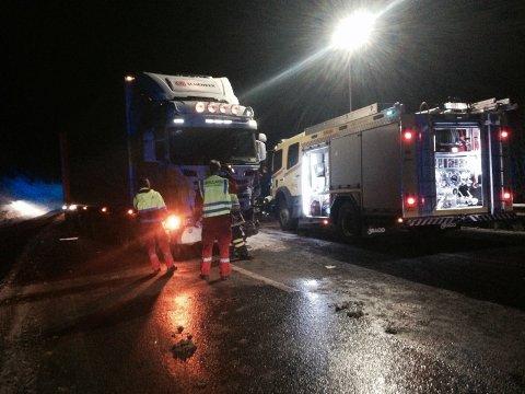 Politiet skaffet seg tirsdag kveld oversikt over hva som skjedde samtidig som de sikret stedet.
