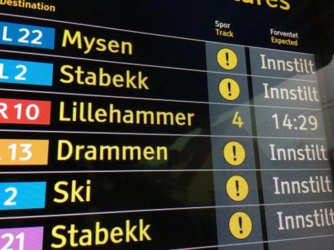 FRYKTER AVSPORING VED HAMAR: Dersom dobbeltsporet stopper ved Hamar, vil det få negative konsekvenser - ikke bare for Lillehammer, men for hele regionen, frykter en gruppe lokale næringslivs- og organisasjonsfolk, med NHO i spissen.