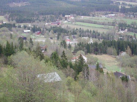 Garden som blir pålagt solgt, ligger i Saksumdal.