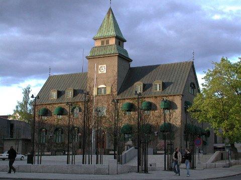 FREDES: Det har lenge vært jobbet med fredning av Norges Banks bygg i Lillehammer. Foto: Kari Utgaard