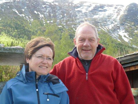 Det er Grethe og Kjell Madsen som driver Nissegården Hytter og Aktiviteter i Lom.