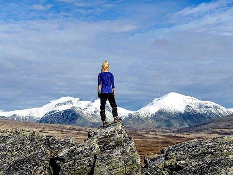 9. UTSYN: Mysuseter og Rondane. Foto: Jon Stensrud