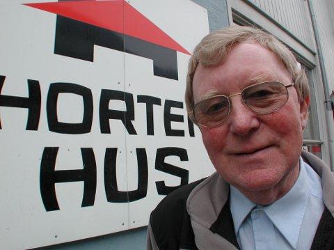 GRÜNDEREN : Gründeren og industribyggeren Gunnar Horten har betydd mye for Ringebu og Gudbrandsdalen. 23. juni døde han 86 år gammel.