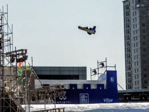 Emil Andre Ulsletten, kvalifisering Air and Style Beijing.