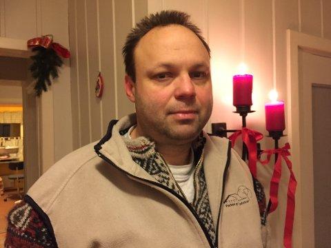 Dagens helt: Jørn Klashaugen (46) fra Otta slukket brannen i naboens juledekorasjon mens de var borte.