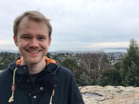 ET LIV MED MATEMATIKK: For ti år siden var Jørgen Vold Rennemo (29) fra Lillehammer, i tetsjiktet i Matte OL internasjonalt. I dag forsker han på heltid.