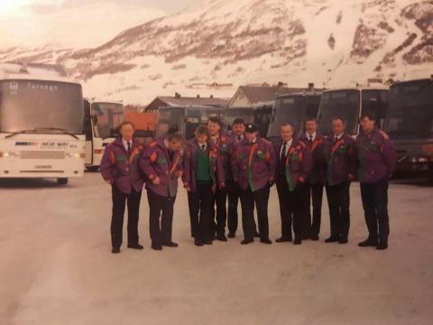Totalt var det 3.000 sjåfører som skysset 3,2 millioner reisende under OL i 1994. Her er et knippe av dem.
