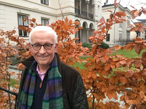 Forbanna: Georg Fredrik Rieber-Mohn fortviler over utbygging i Flå kommune der han har kjempet mot hytteutbygging.