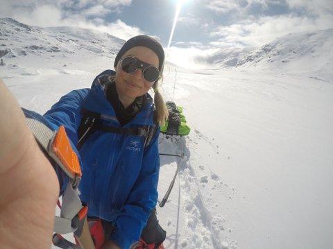 SITT LIVS EVENTYR: Pia Marie Arnesen fra Bergen gikk påsketuren på 370 kilometer alene.