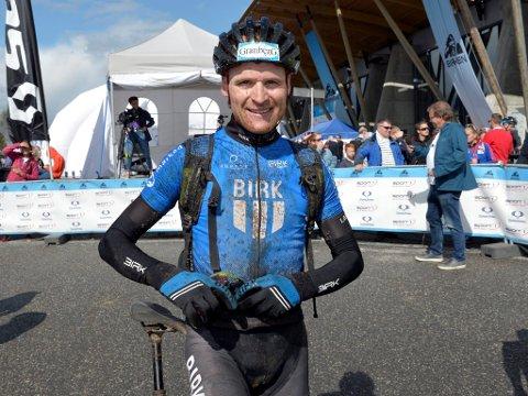 VANT: Lars Granberg sikret seg seieren i UltraBirken for andre gang.