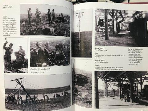 Det hadde ikke lyktes årbokredaksjonen å oppspore bilder av taubana mellom Lillehammer og Nordseter, men bildene i artikkelen er fra en helt tilsvarende bane som ble bygget i Lakselv i 1942.