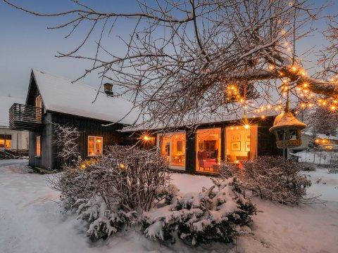 """Her er bildet som ble valgt som såkalt """"stoppbilde"""". Et smart valg, siden huset satte Lillehammer-rekord i antall digitale visninger hos Dnb i 2018."""
