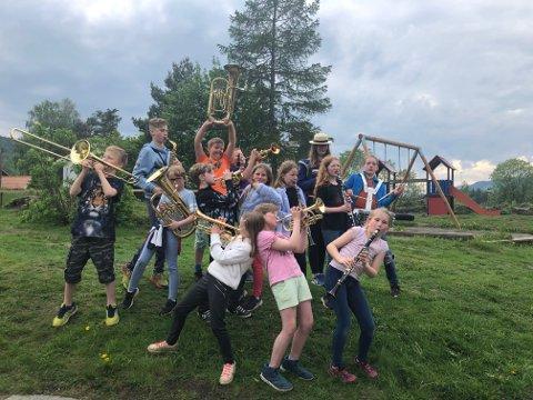 Ingen andre korps i dalen sender flere på kurs enn Harpefoss skolemusikk.