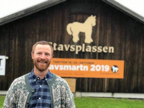 Daglig leder i Stavsplassen SA, Eivind Holen Buhaug, er glad. Det overraskende tilskuddet på 500.000 kroner berger selskapet fram til våren.