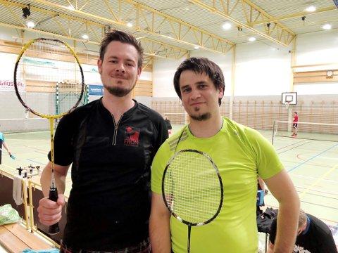 Runar Rygh Løkken og Torkil Alvheim, Fron badmintonklubb, ble vinnere av herredouble B.
