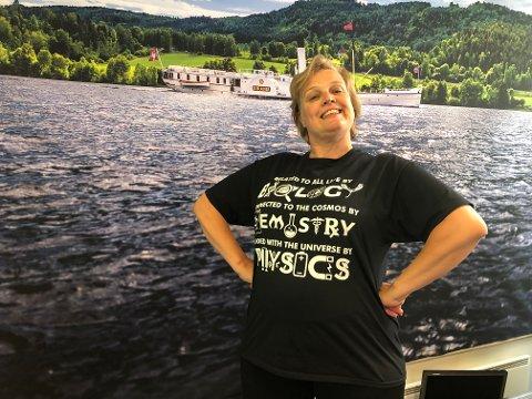 KROPPS-POSITIV: – Man må bare leve med den kroppen man har, sier radioprogramleder Madeleine Cederström.