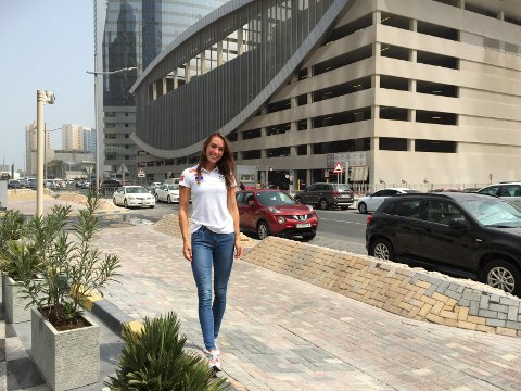 På plass: Årets VM i friidrett går i Doha i Qatar. Ringsakers lokale håp er på plass.