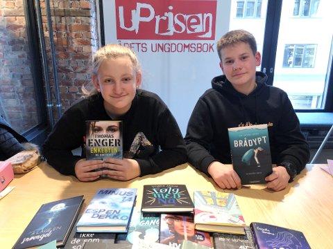 Mari Rønningen på Smestad ungdomsskole og Råmund Vang fra Vågå ungdomsskule har vært medlemmer i juryen som har nominert de fem beste norske ungdomsbøkene utgitt i 2019.