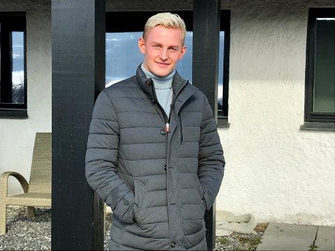 Vegard Magnus Sevaldsen, jusstudent fra Lillehammer, som har fått praktikantjobb i FN fra august 2020.