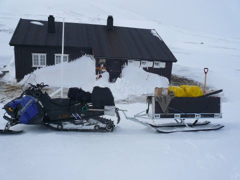 En vanlig tilsynstur førte til at hytteoppsyn Wiggo Vasshaug kom over ubudne gjester i Reinfjell.