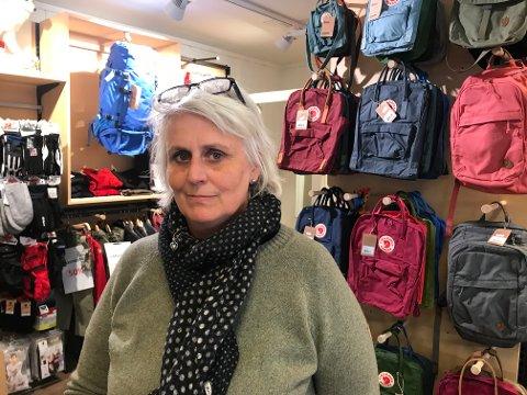 Cathrine Johnsgård er innehaver av Revehiet i Storgata og én av flere leietakere hos Tom Hagen.