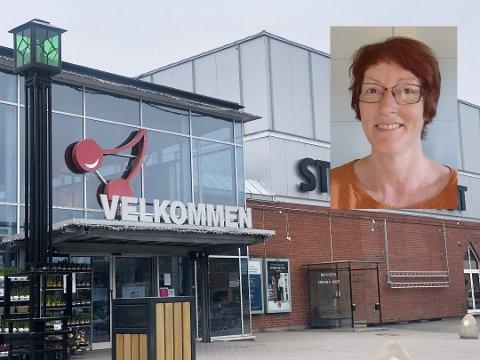 Sykepleier Kristin Hoff Stadeløkken er forsiktig med å handle i butikker. Hun ønsker flere smitteverntiltak velkommen.
