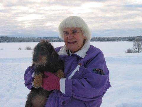 Pålin Li fylte nettopp 95 år, og har en audiens på slottet i vente,