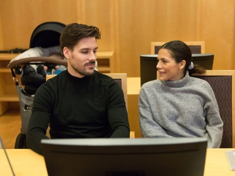 TAPTE: Ekteparet Morten Sundli og Jørgine Massa Vasstrand vant ikke fram i lagmannsretten. Bildet ble tatt da ekteparet møtte i tingretten. FOTO: Paul Weaver (Nettavisen)