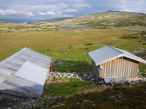 Fremre Vulutjønn i Sør-Fron. Vatnet ligger i verneområdet i Rondane.