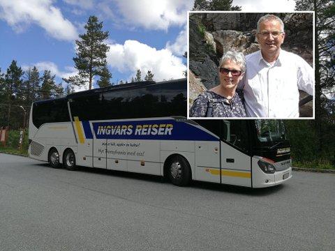 Ekteparet Ingvar og Silje Csilla Landa driver bussturselskapet Ingvars reiser. På en rundreise i Sør-Norge, som tok dem via Lillehammer og Gudbrandsdalen, ble 37 deltakere smittet av koronaviruset.