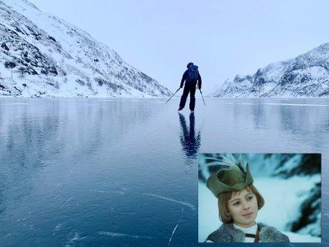 Askepott kommer til Gjende i mars. Da starter innspillingen av ny-versjonen av «Tre nøtter for Askepott» med Cecilie Mosli som regissør.