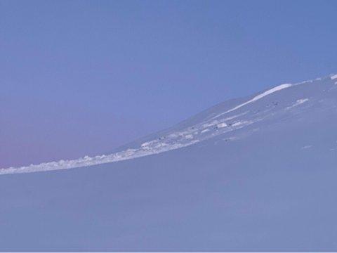 Skredet var 60 meter langt og 100 meter bredt, ifølge politiet.