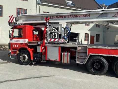 Interessert i å kjøpe en brannbil? Nå kan denne bli din.