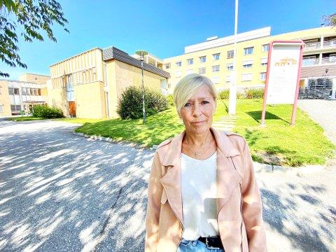 BESKRIVER STORE UTFORDRINGER: - Ferieavviklingen har vært svært krevende for de ansatte i kommunehelsetjenesten, sier Anne Mette Iversen er hovedtillitsvalgt for Fagforbundet i Lillehammer kommune.