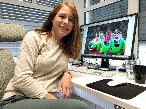 Ida Bredeveien er leder i Otta Handels- og Næringsforening. Nå ser hun fram til å klippe snora for en Ottamartna i fullskala igjen. i fjor satte pandemien en stopper for arrangementet.