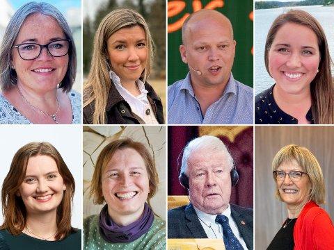 TRO OG TVIL: Det er fortsatt et splittet syn om sykehusstrukturen blant stortingskandidatene i Innlandet. Her er et utvalg av toppkandidatene til de ulike partiene.