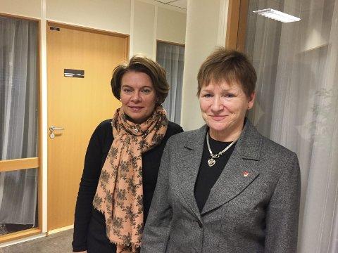 MENER Å HA FULGT RETNINGSLINJENE: Personalsjef i Gran kommune, Anita Øverland (til høyre) og Mona Mikalsen, kommunalsjef barnehage og skole.