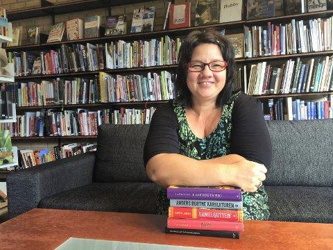 BIBLIOTEKSJEF: Det er 11 søkere som ønsker å bli Eva Engskars etterfølger som biblioteksjef i Lunner.
