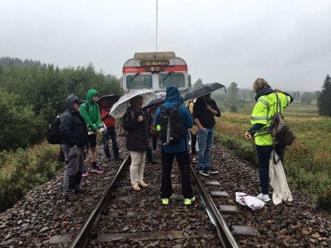 Evakuering av Gjøvikbanen