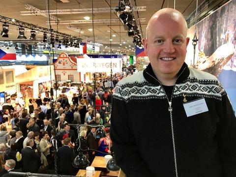 BEGEISTRET: Reislivssjef Arne Jørgen Skurdal
