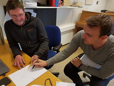 Hvordan kjøre en rundkjøring? Diskusjon med kollegiet, Lars Stålegård og Kjetil Meinstad Aasrud