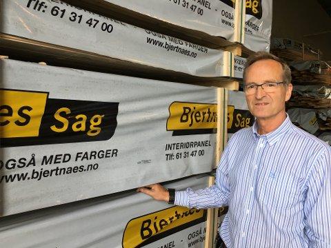 På formuetoppen: Sverre Bjertnæs, eier av den 100 år gamle jevnakerbedriften Bjertnæs Sag.