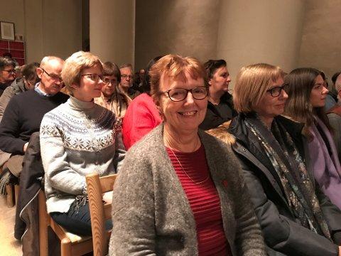FAST INVENTAR: Anne Marie Solstad har fått med seg ti julekonserter i år.